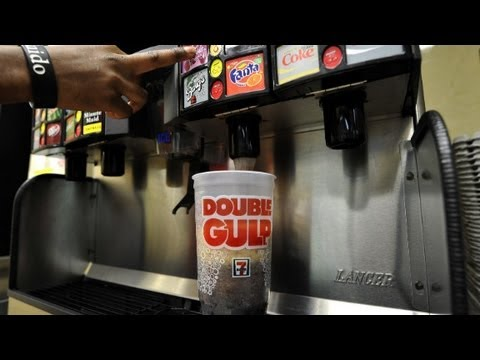 Judge halts New York's large soda ban.
