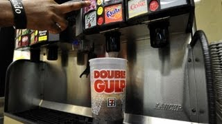 Judge halts New York's large soda ban.