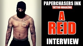 Paperchasers Ink - Tattoo Magazine - interview with A Reid - Issue #1