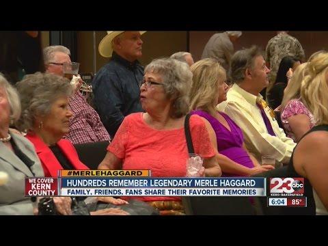 Family, friends, fans share favorite Merle Haggard memories after Bakersfield Memorial