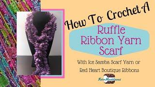 Samba Yarn Scarf Crochet Pattern