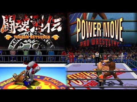 Toukon Retsuden Aka Power Move Pro Wrestling!