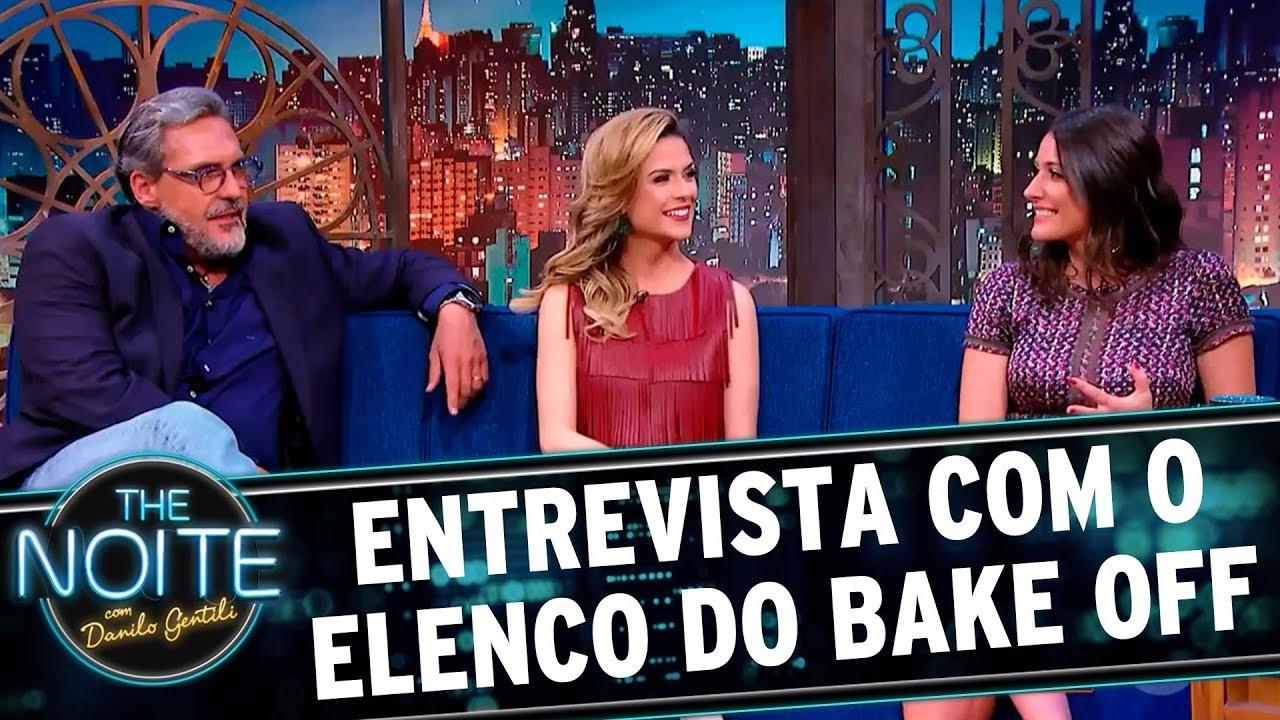 Entrevista Com Elenco Do Bake Off Brasil The Noite 12 09 17
