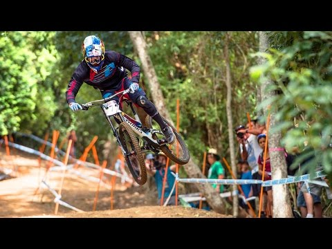 Charging the Downhill MTB Track in Cairns: Finals Highlights