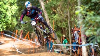 Charging the Downhill MTB Track in Cairns: Finals Highlights(Watch UCI MTB's Fastest Riders Compete on Red Bull TV: http://win.gs/UCI2016Cairns The lush rainforest of Cairns made for a wet and wild weekend of ..., 2016-04-26T19:03:19.000Z)