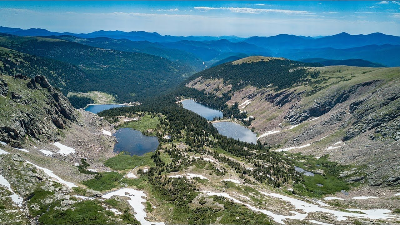 Chinns Lake, Slater Lake, Fall River Reservoir, Colorado