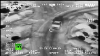 Combat cam: Iraqi Air Force pounds ISIS vehicles