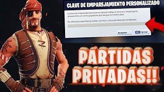 FORTNITE CHILE Partidas Privada con mis love multiplataforma