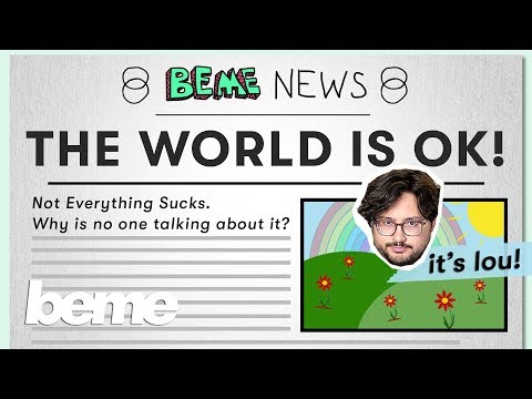 Ignore the headlines - the world is getting better