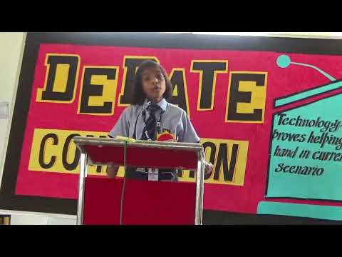 Best Debate Competition by Yashika Singh of Grade - 8 from RPS Public School Dharuhera