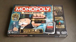 Monopoly Ultimate Banking Edition Unboxing