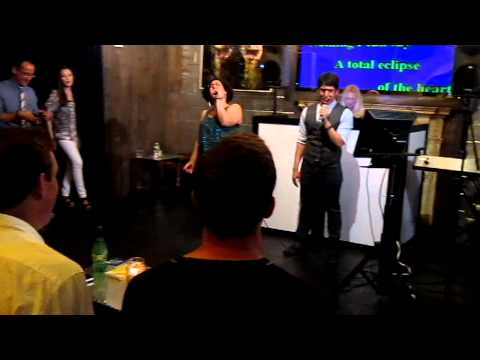 Andrew & Angie Take on the Esurance Doubles Karaoke Contest!