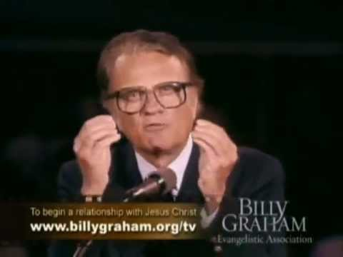 The Power Of The Cross - Billy Graham ● New England Crusade in Boston Sermon