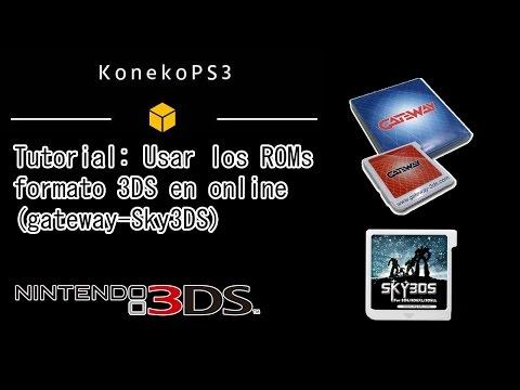 Tutorial: Usar ROMs formato 3DS en modo online (gateway-sky3DS)