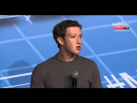 Mark Zuckerberg at the Mobile World Congress 2014 ( Full Video )