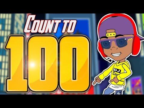 DJ Count | Count To 100 | Jack Hartmann