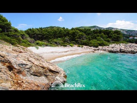 beach Malo Borče, Milna, island Hvar, Croatia