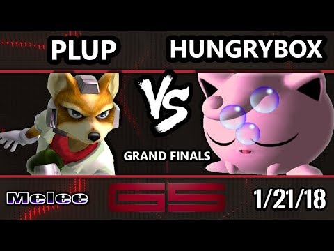 GENESIS 5 SSBM - PG | Plup (Fox) VS Liquid'Hungrybox (Jigglypuff) - Smash Melee GF