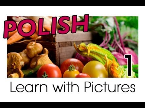 Learn Polish with Pictures - Get Your Vegetables!