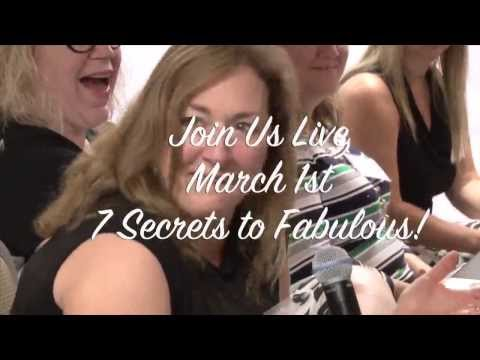 Women 7 Secrets To Fabulous Live Event in NJ