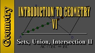 Geometry: Introduction to Geometry (Level 6 of 7)   Sets, Union, Intersection II