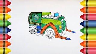 How to Draw a Paw Patrol Rocky
