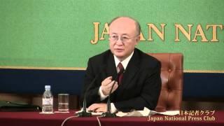 天野之弥 国際原子力機関(IAEA)事務局長 2010.12.17
