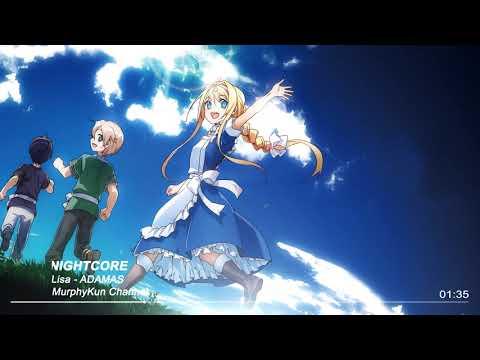 Nightcore - ADAMAS 【Sword Art Online Alicization OP】