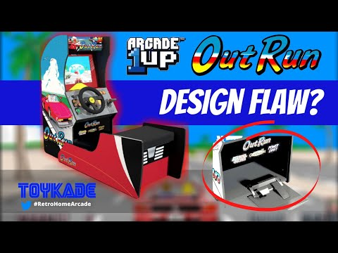 Arcade1UP - Outrun officially announced but is it flawed? from ToyKade