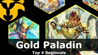gurguit gold paladin cardfight vanguard deck profile march 2017 top 4 regionals