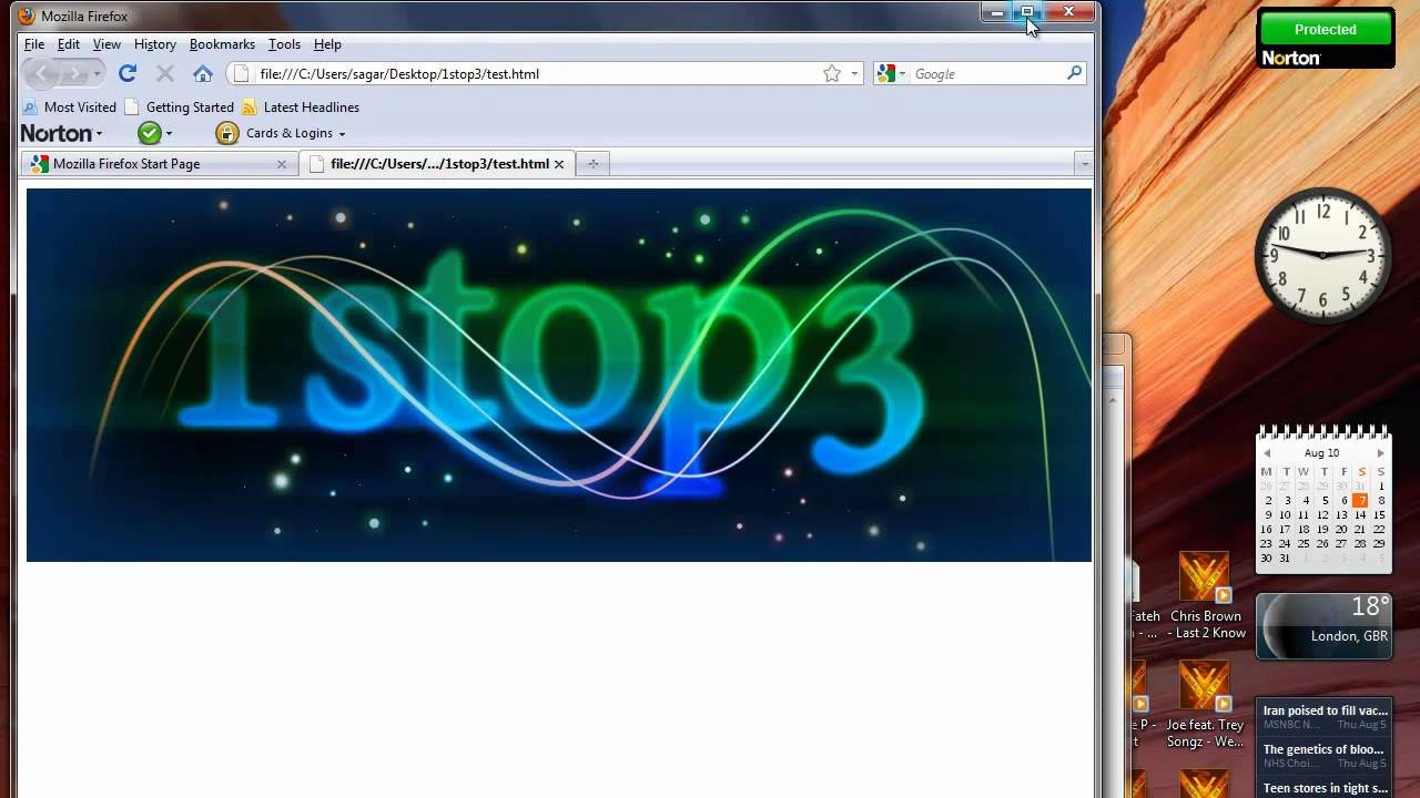 how to add youtube video in html website