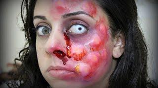 Vírus Zumbi - Tutorial de Maquiagem Artística