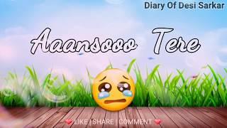 💝 Kuch Is Tarha : i Love You Babu 😘 : Sad Romantic Song WhatsApp Status VIDEO 2017 😊 @DesiSarkar