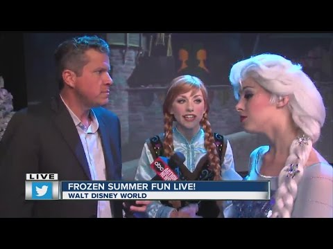 Sean Daly at Disney's Frozen Summer Fun LIVE!