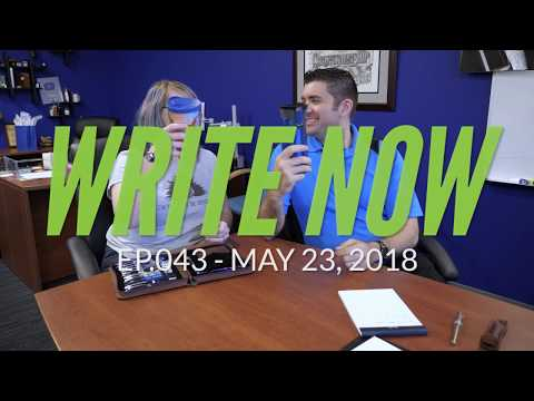 Write Now - Ep.043: Meet Jenn, the Person Tasked with Reining in Brian Goulet!