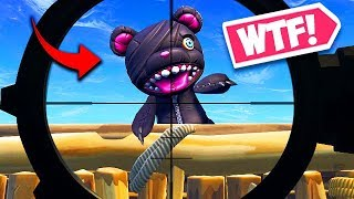 *NEW* SCARY BEAR BACK BLING TROLL! - Fortnite Funny Fails and WTF Moments! #440