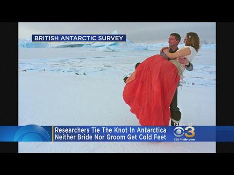 Polar Researchers Get Married In Antarctica