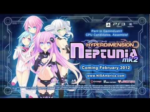 HYPERDIMENSION NEPTUNIA MK2 (US) TRAILER