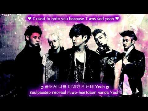 NU'EST Not Over You [Eng Sub + Romanization + Hangul] HD