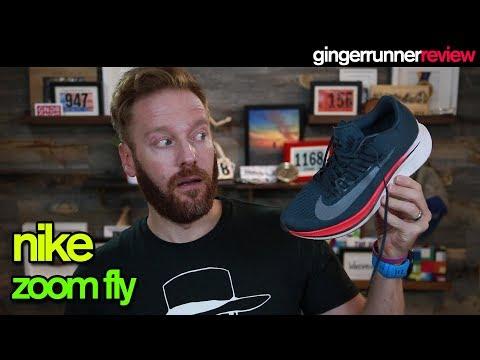 NIKE ZOOM FLY REVIEW | The Ginger Runner