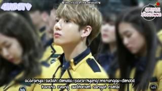 [INDO SUB] Jungkook went to High school with BTS for graduation! (Bangtan Bomb) - Kelulusan Jungkook
