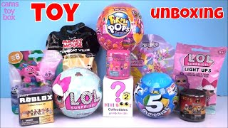 LOL PIKMI POPS 5 Surprise Roblox Series 1 Toys Light UPS Mickey Mouse DOMEZ Mashem Fashem Unboxing