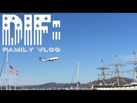 Planes Fly LOW During San Francisco's Fleet Week