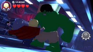 Lego Marvel's Avengers (PS Vita/3DS/Mobile) Attack on the Helicarrier - Free Play