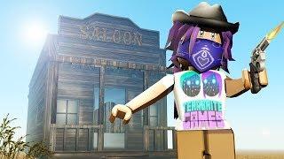 ROBLOX WILD REVOLVERS GAMEPLAY!   Case Code, Gun Skins & Kill Streak?!