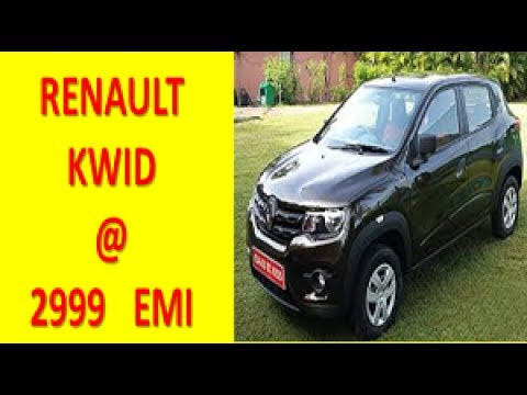 Renault Kwid Just At Rs 2999 Emi Only Dhamaka Offer Kwid With