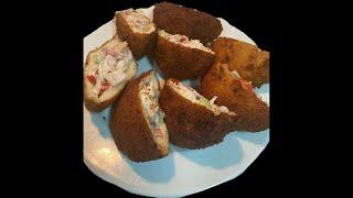 Quarantine  Pocket  Shawarma  Chicken  Bread