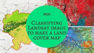 ARCGIS : Classifying Landsat image to make a land cover map