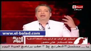 بالفيديو.. تامر أمين: اعتصام حمدين صباحي داخل حزب الكرامة «شو إعلامي»