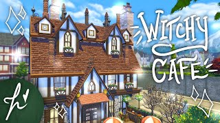 THE WITCH'S BREW CAFE ☕ // The Sims 4: Speed Build